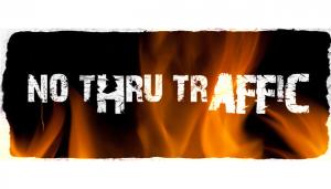 No Thru Traffic Band Web